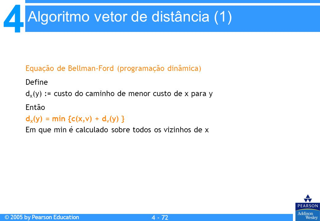 Algoritmo vetor de distância (1)