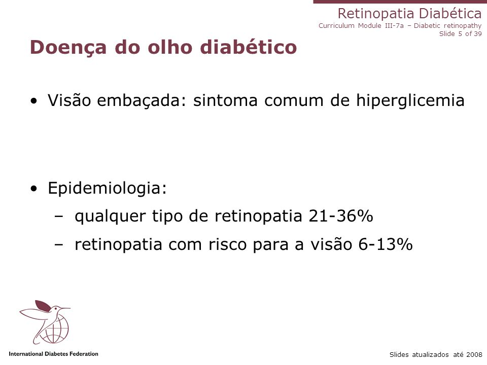 Doença do olho diabético