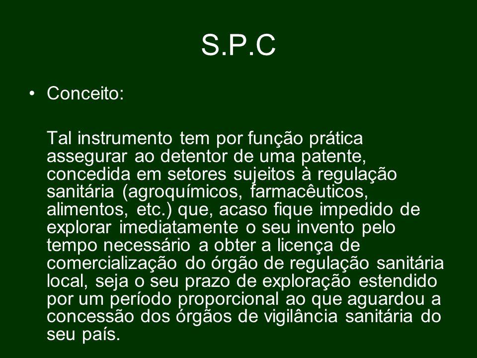 S.P.C Conceito: