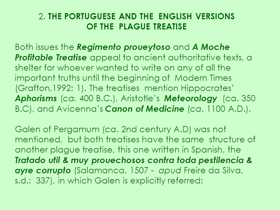 2. THE PORTUGUESE AND THE ENGLISH VERSIONS