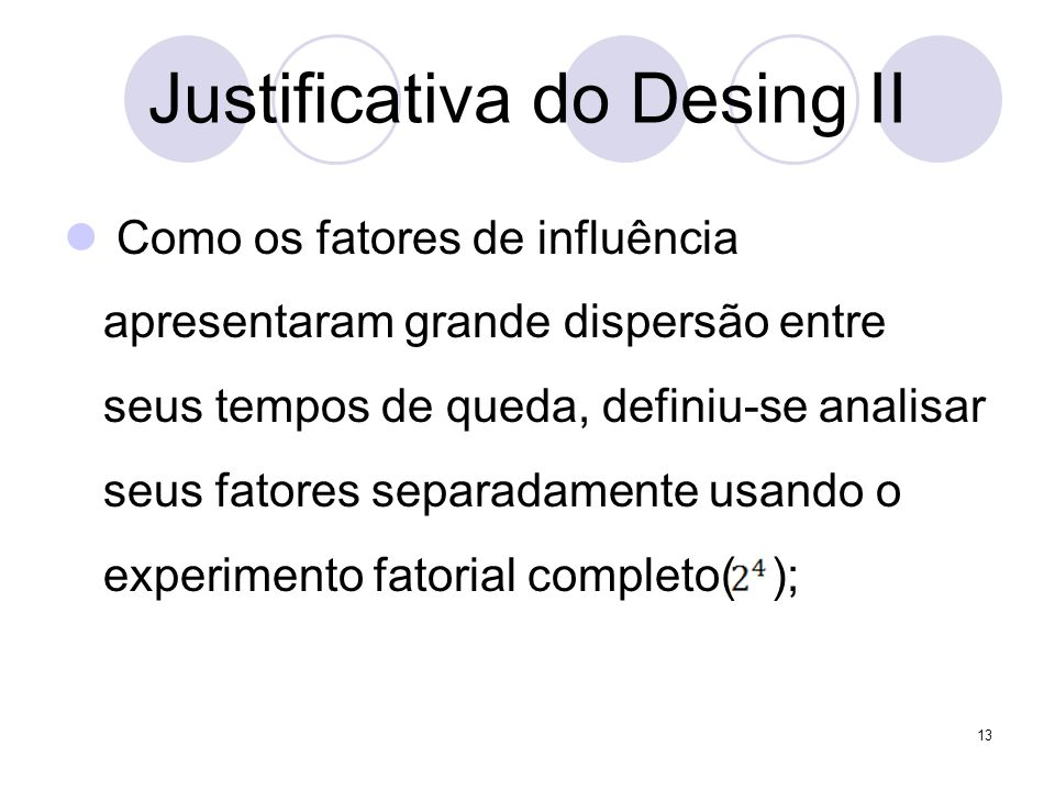 Justificativa do Desing II
