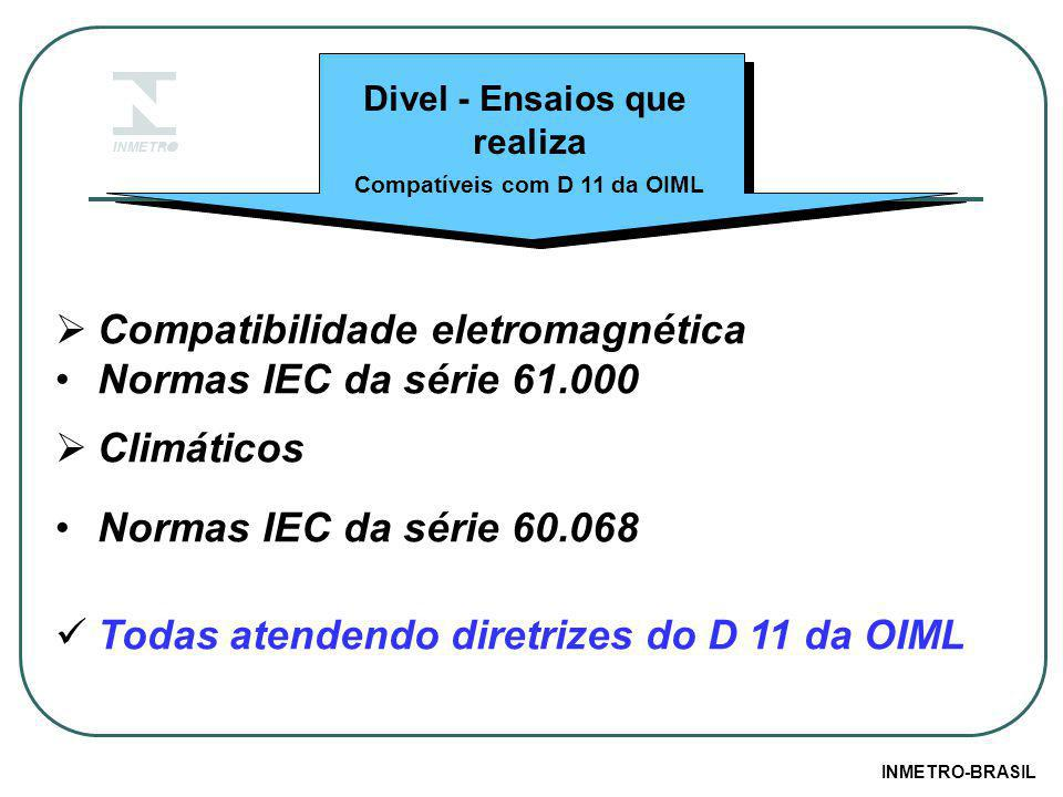 Compatíveis com D 11 da OIML
