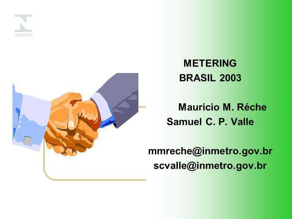 METERING BRASIL 2003. Mauricio M. Réche. Samuel C.