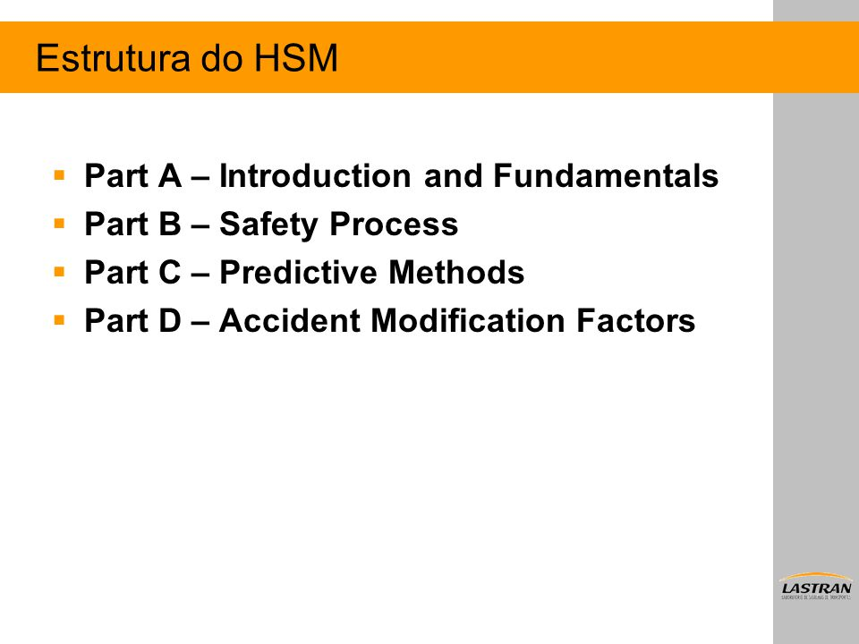 Estrutura do HSM Part A – Introduction and Fundamentals