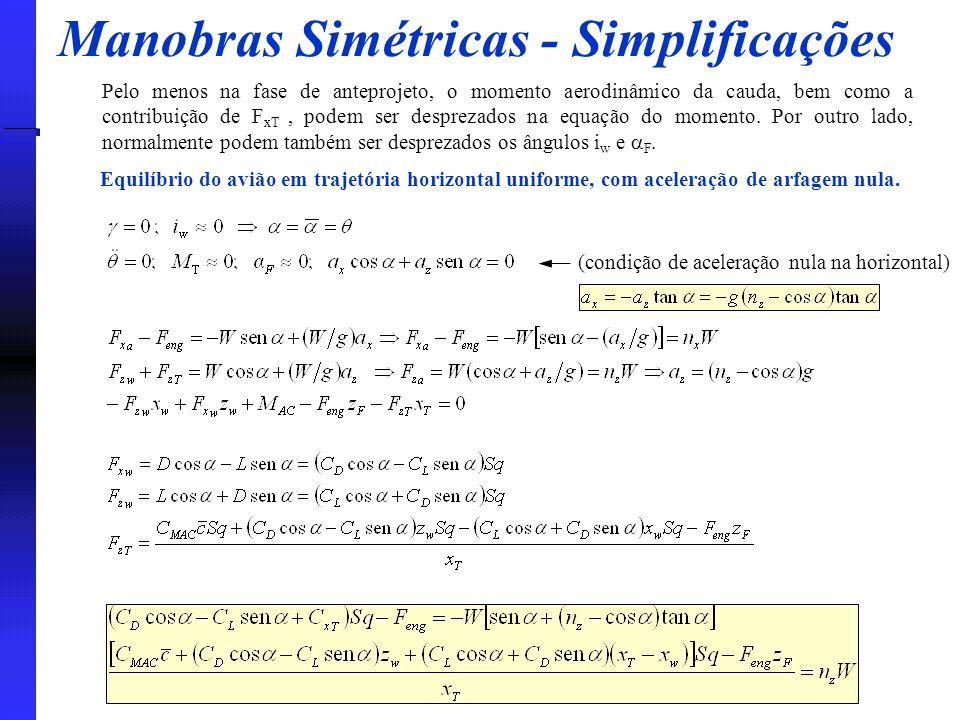 Manobras Simétricas - Simplificações