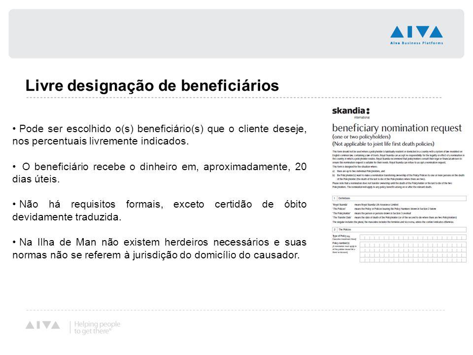 Livre designação de beneficiários