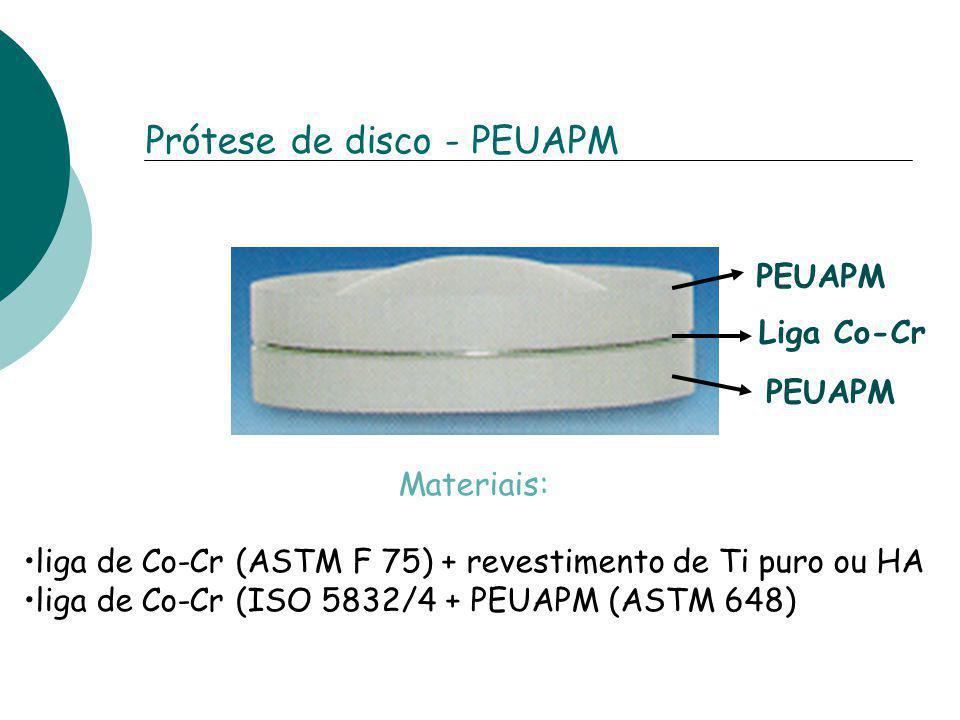 Prótese de disco - PEUAPM