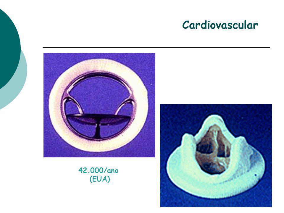 Cardiovascular 42.000/ano (EUA)