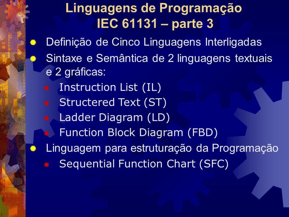 Linguagens de Programação IEC 61131 – parte 3