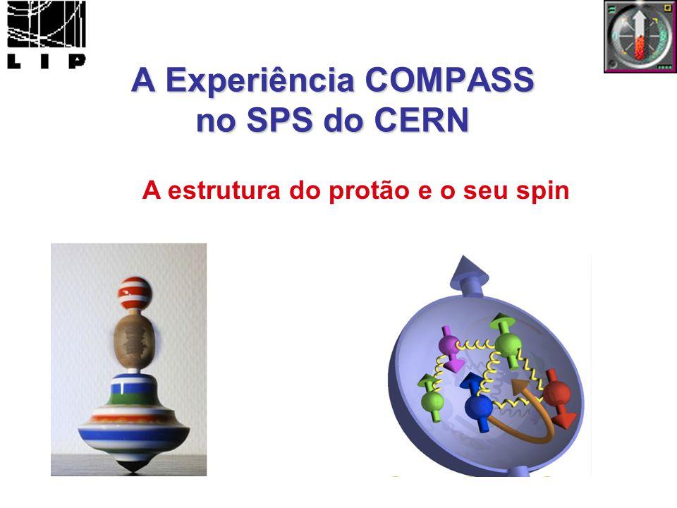 A Experiência COMPASS no SPS do CERN