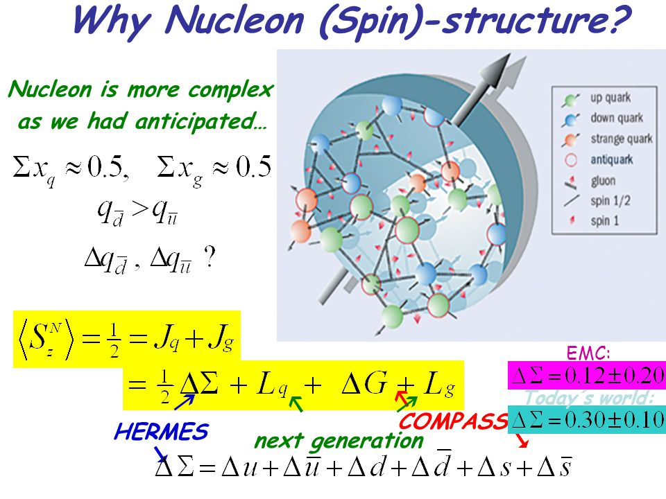 Why Nucleon (Spin)-structure