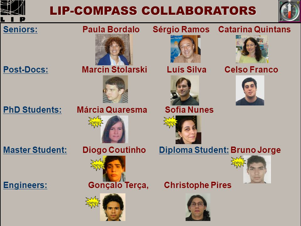 LIP-COMPASS COLLABORATORS