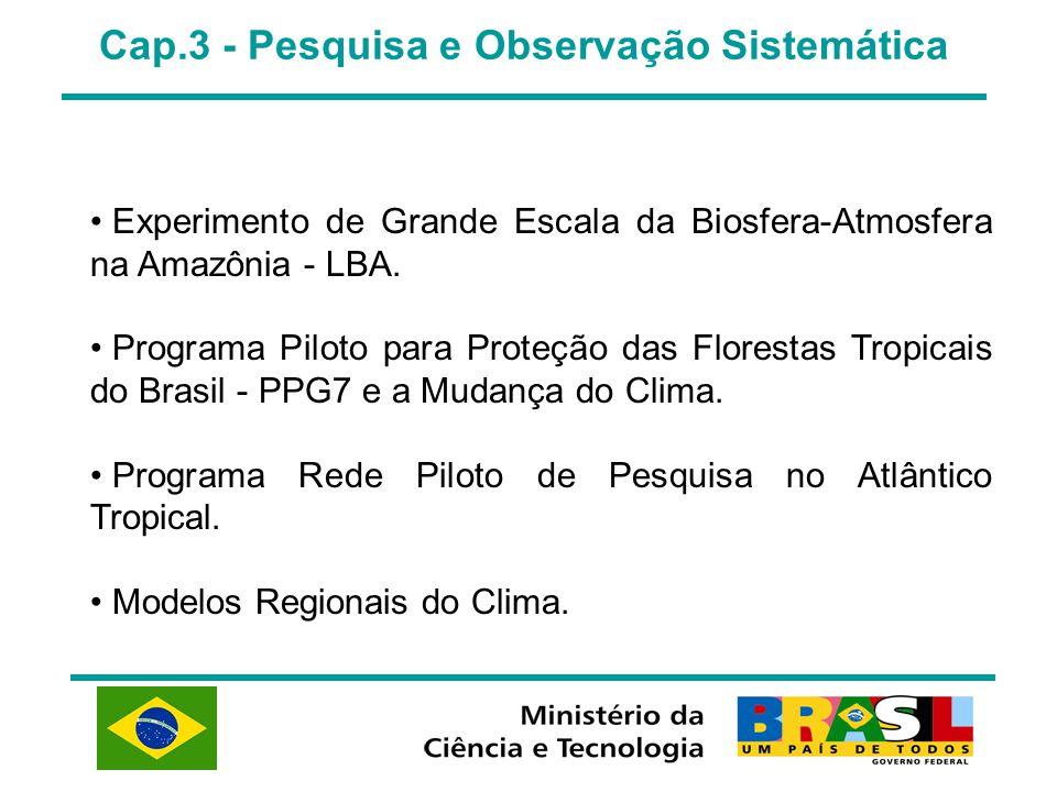 Cap.3 - Pesquisa e Observação Sistemática