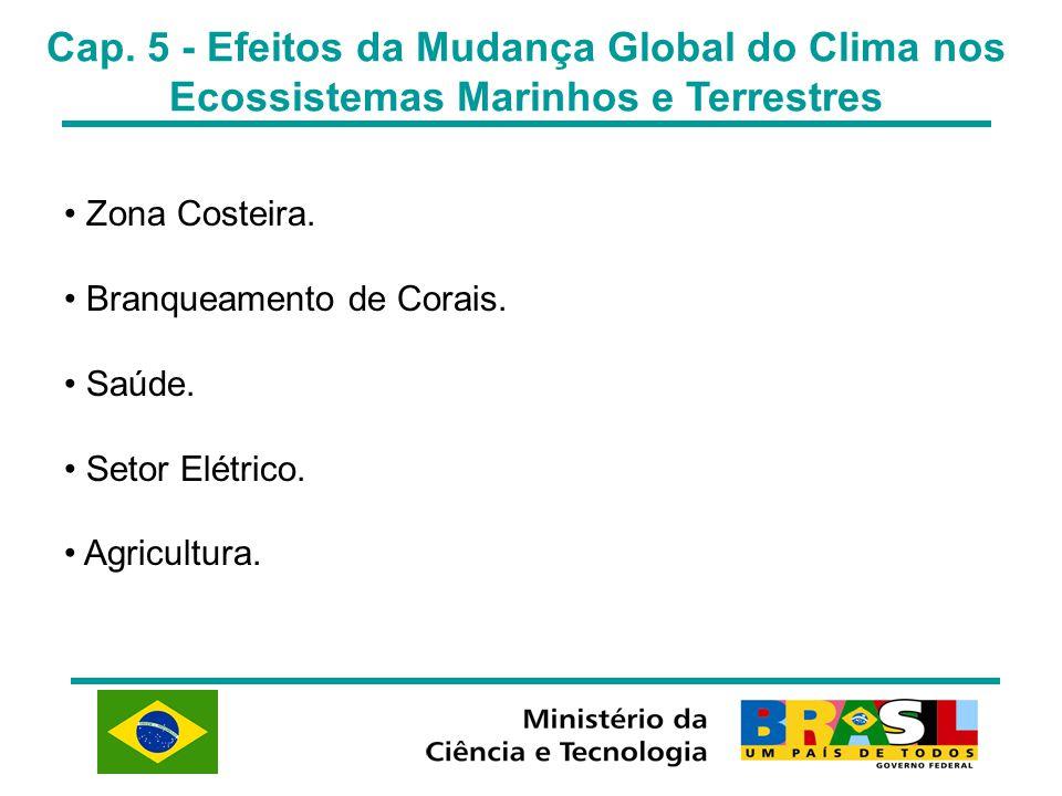 Cap. 5 - Efeitos da Mudança Global do Clima nos Ecossistemas Marinhos e Terrestres