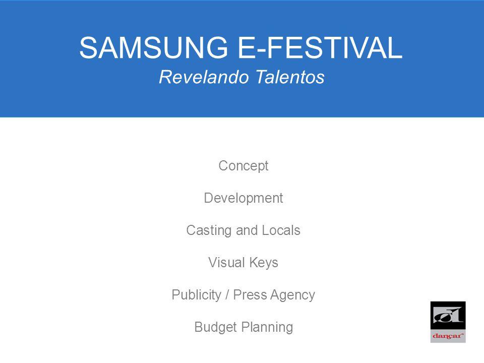 SAMSUNG E-FESTIVAL Revelando Talentos