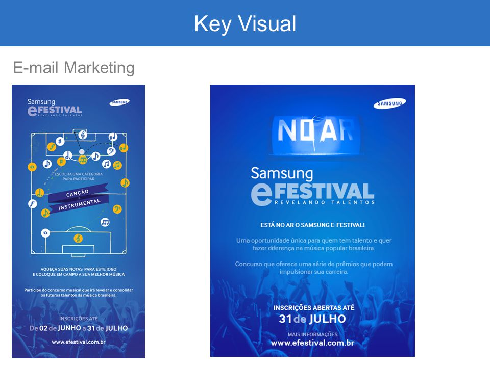 Key Visual E-mail Marketing