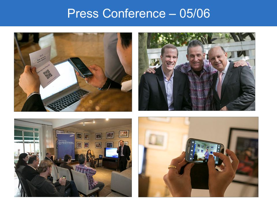 Press Conference – 05/06