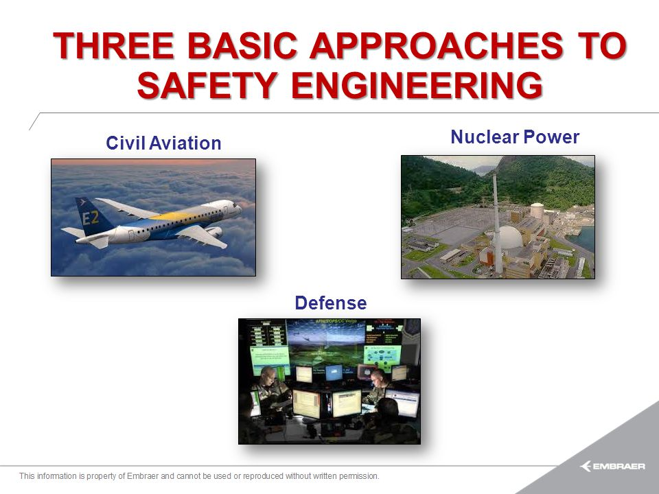 THREE BASIC APPROACHES TO SAFETY ENGINEERING