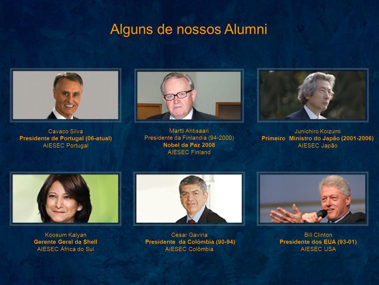 Alguns de nossos Alumni