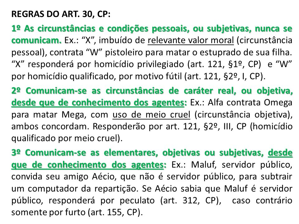 REGRAS DO ART.