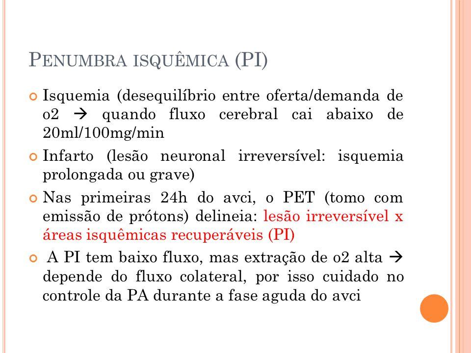 Penumbra isquêmica (PI)