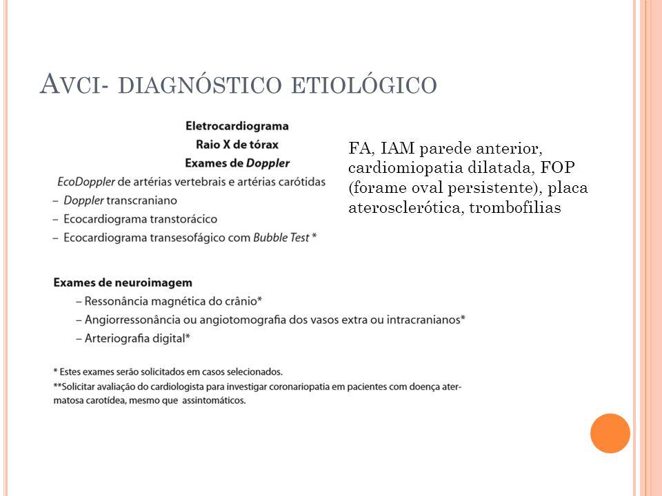 Avci- diagnóstico etiológico