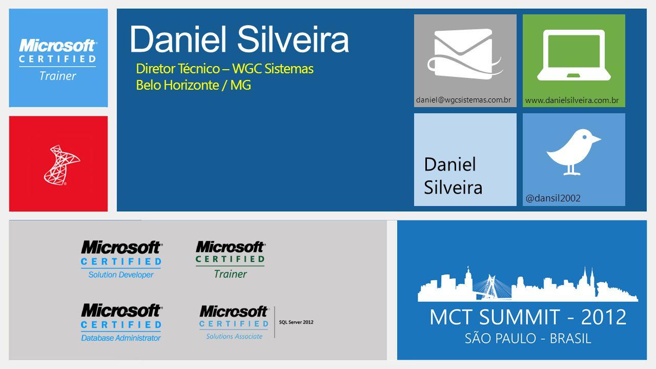 Daniel Silveira Daniel Silveira Diretor Técnico – WGC Sistemas