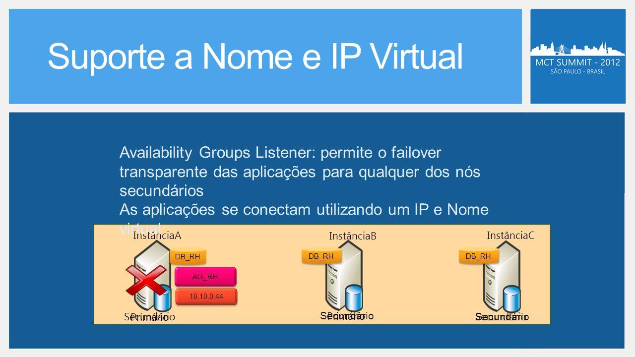 Suporte a Nome e IP Virtual