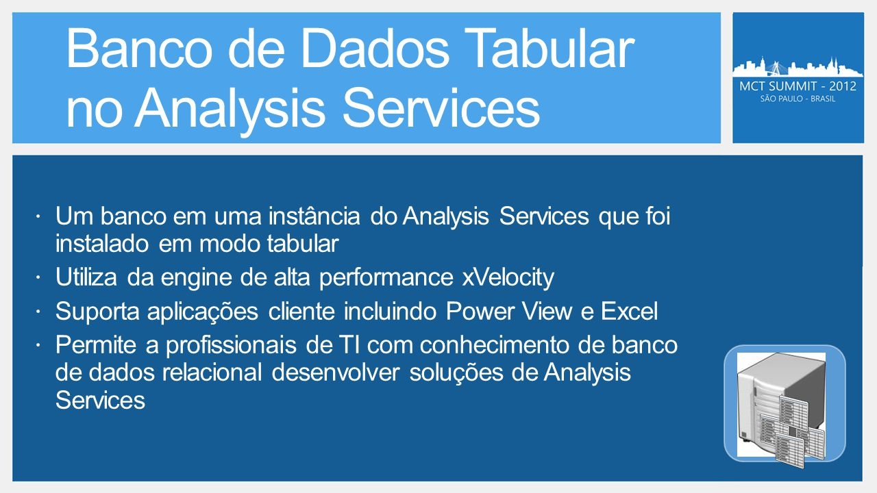 Banco de Dados Tabular no Analysis Services