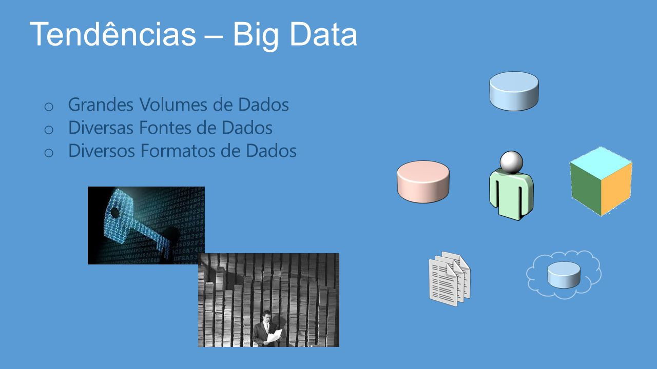 Tendências – Big Data Grandes Volumes de Dados