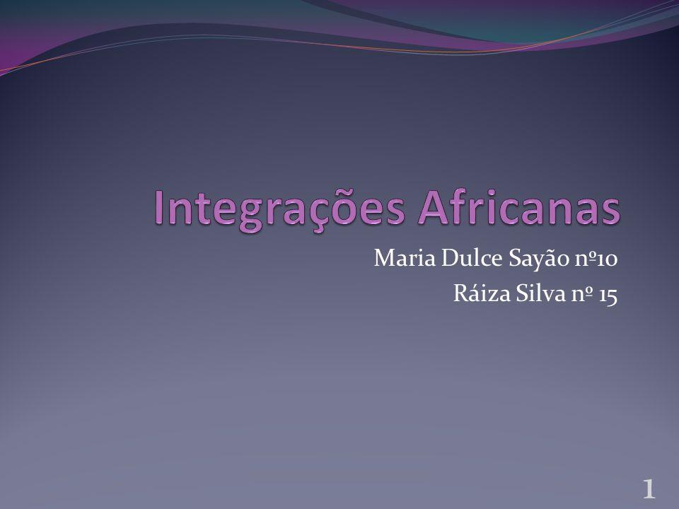 Integrações Africanas