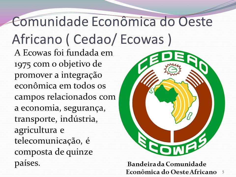 Comunidade Econômica do Oeste Africano ( Cedao/ Ecowas )