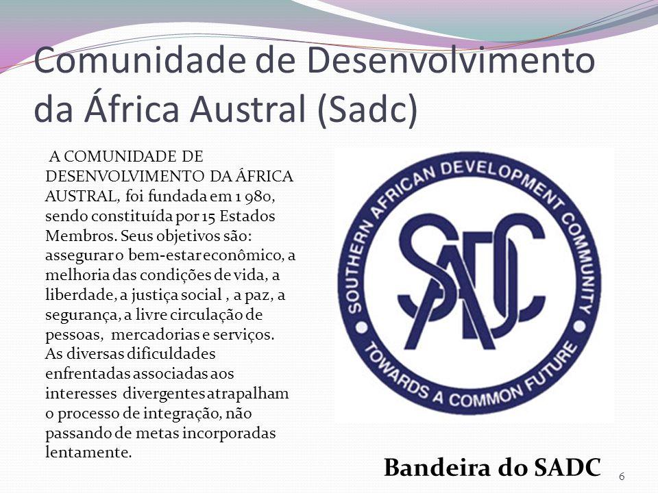 Comunidade de Desenvolvimento da África Austral (Sadc)