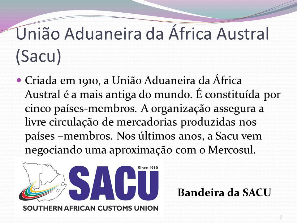União Aduaneira da África Austral (Sacu)