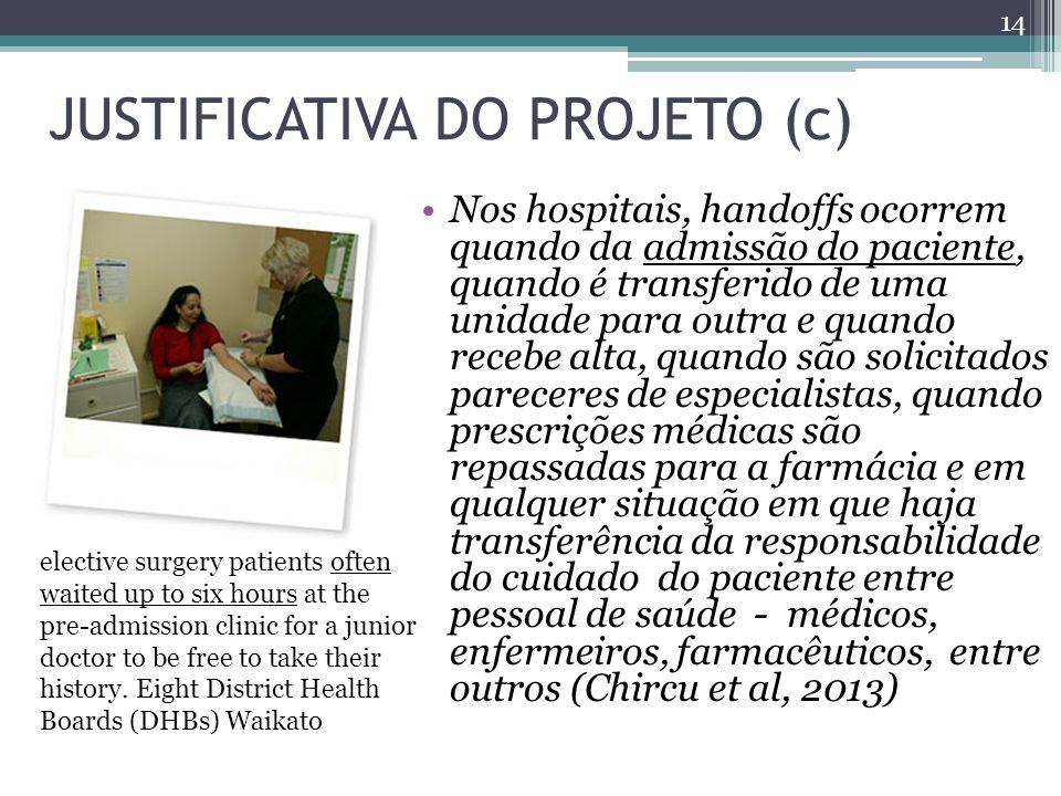 JUSTIFICATIVA DO PROJETO (c)