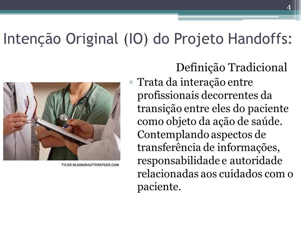 Intenção Original (IO) do Projeto Handoffs: