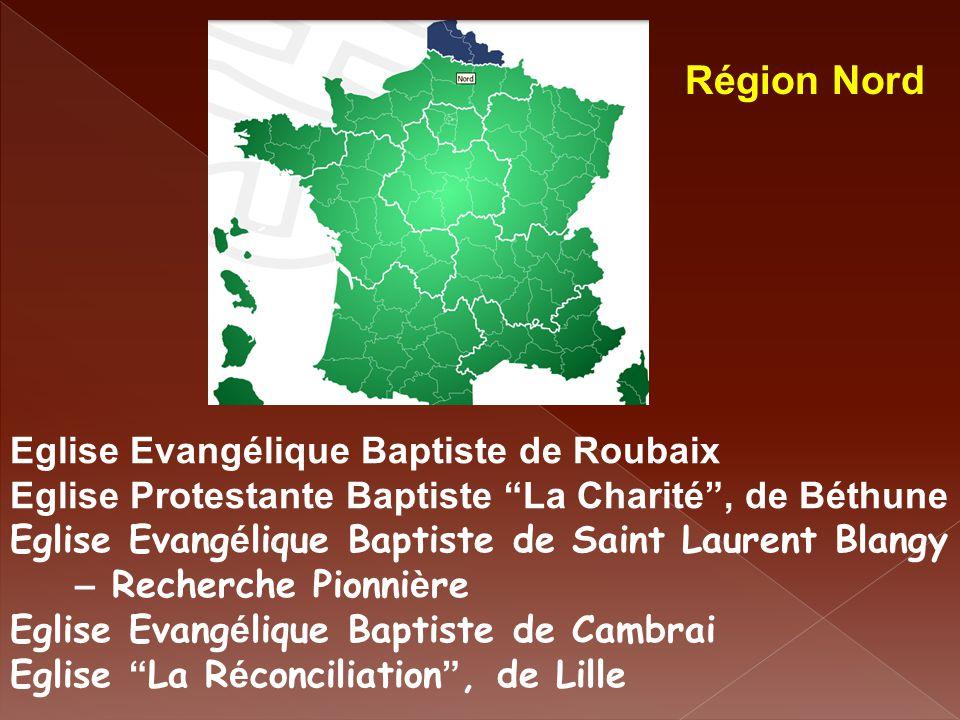 Région Nord Eglise Evangélique Baptiste de Roubaix