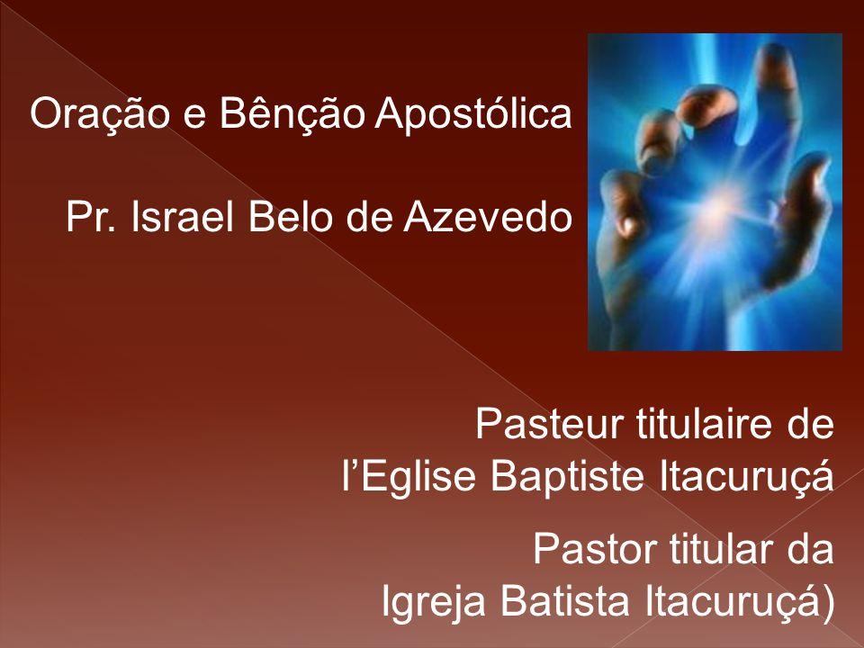 Oração e Bênção Apostólica