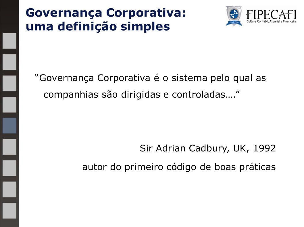 Governança Corporativa: uma definição simples