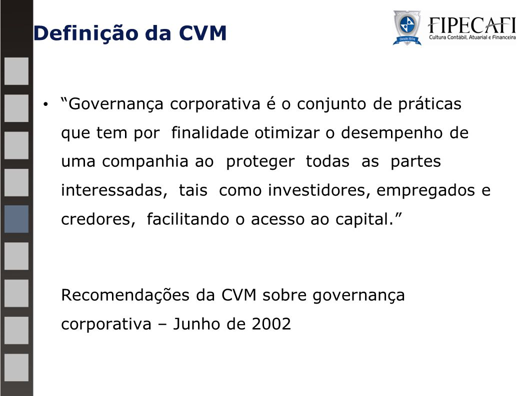 Definição da CVM