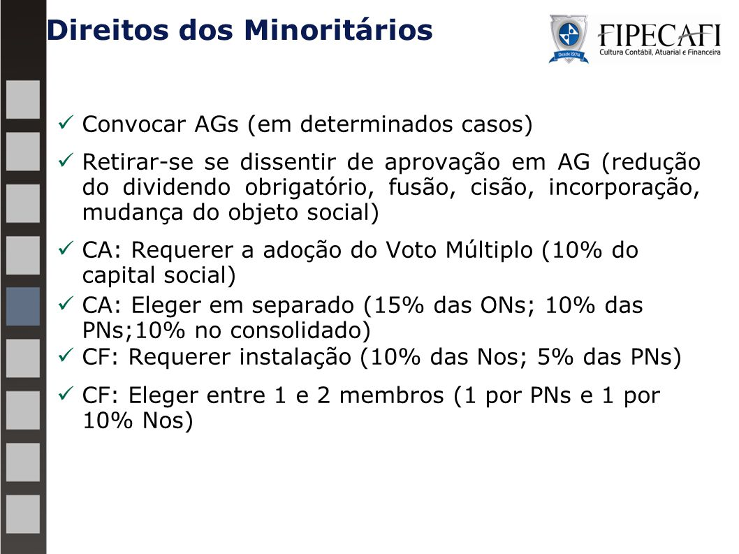 Direitos dos Minoritários