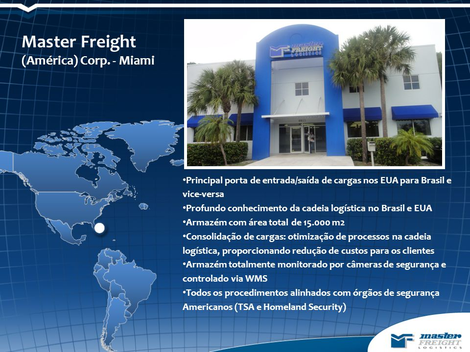 Master Freight (América) Corp. - Miami