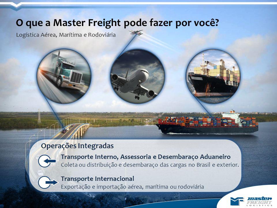 O que a Master Freight pode fazer por você