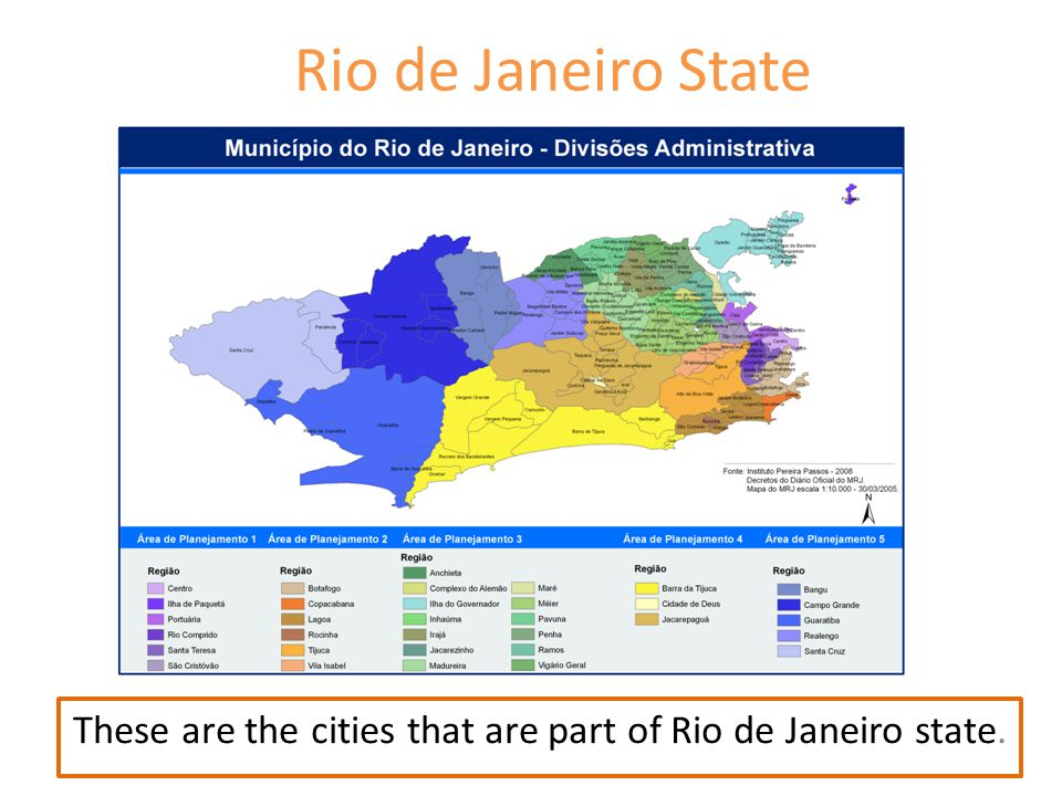 These are the cities that are part of Rio de Janeiro state.