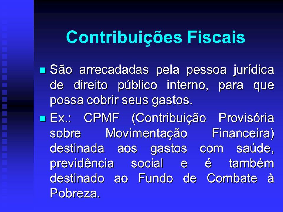 Contribuições Fiscais