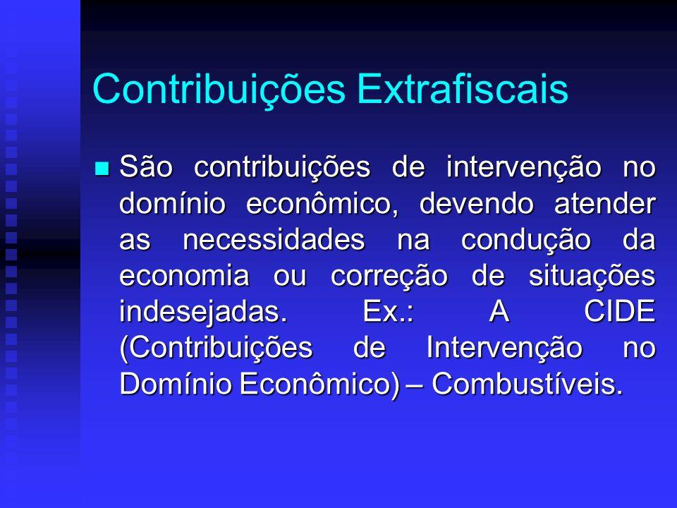 Contribuições Extrafiscais