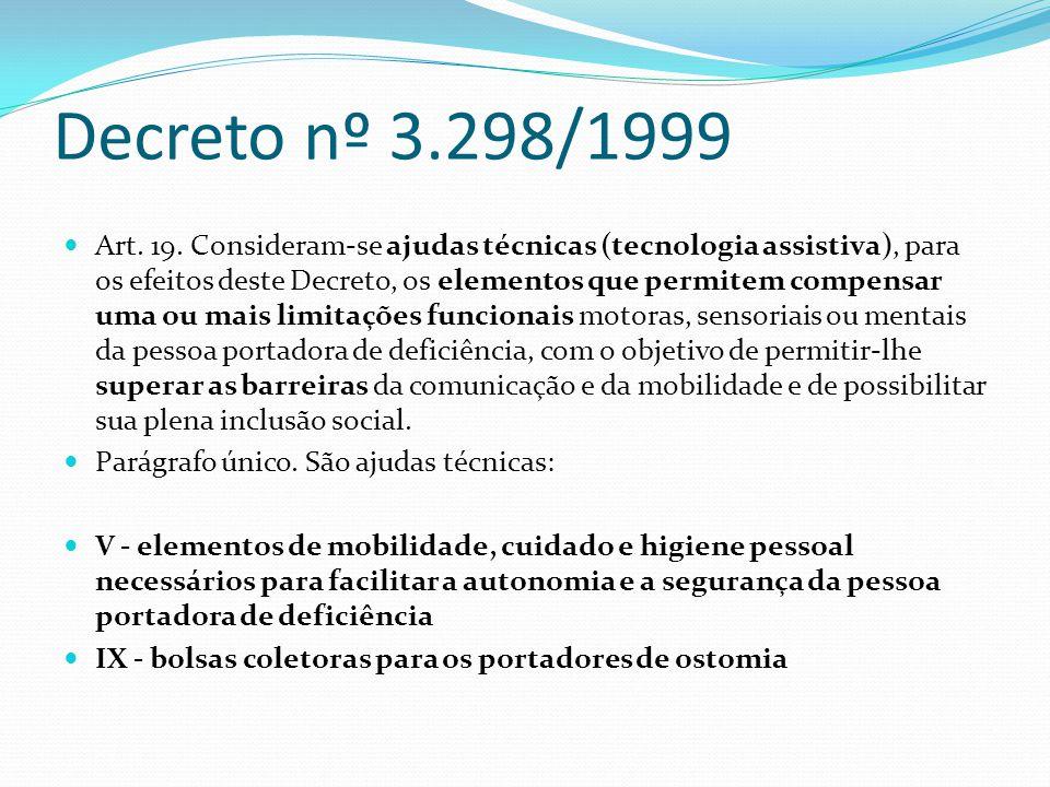 Decreto nº 3.298/1999