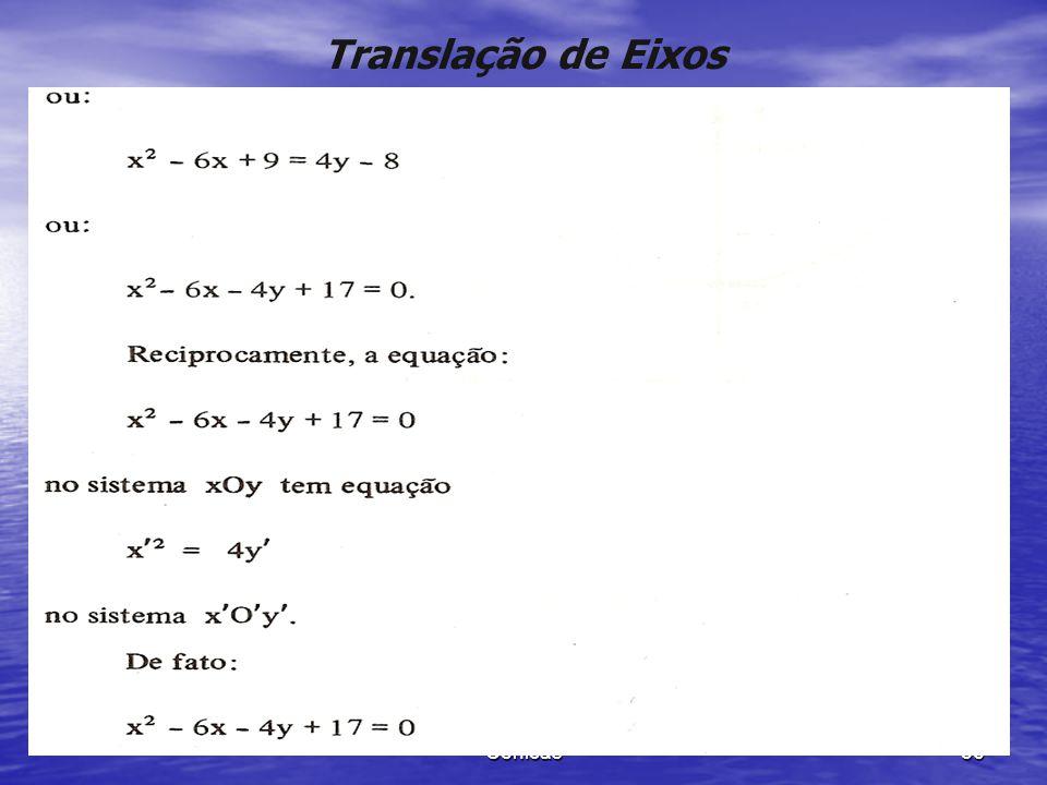 Translação de Eixos Cônicas
