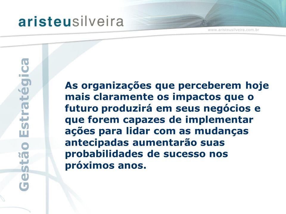 As organizações que perceberem hoje mais claramente os impactos que o futuro produzirá em seus negócios e que forem capazes de implementar ações para lidar com as mudanças antecipadas aumentarão suas probabilidades de sucesso nos próximos anos.
