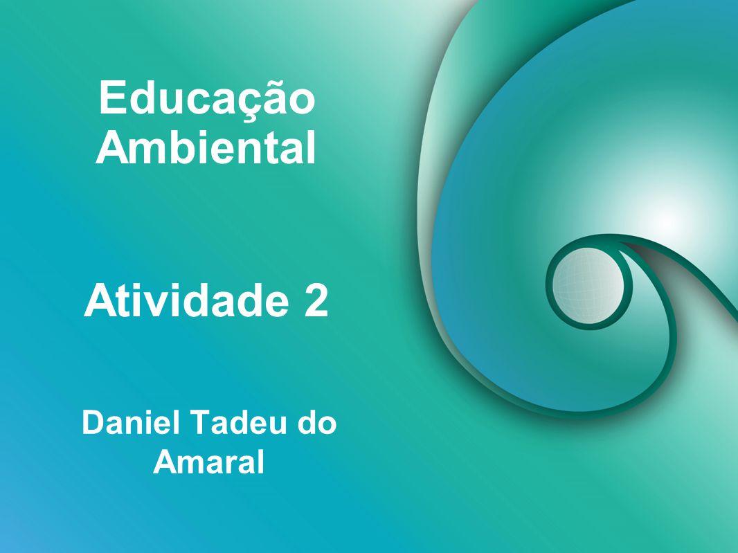 Educação Ambiental Atividade 2